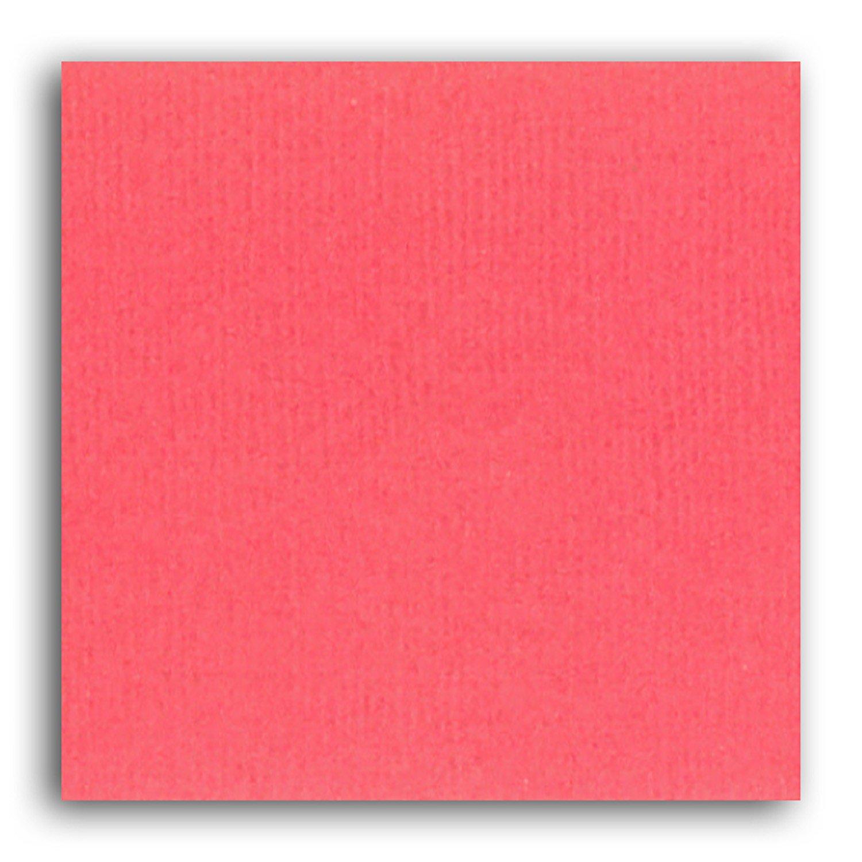 Papier scrapbooking Mahé Rose Corail 30,5x30,5 cm
