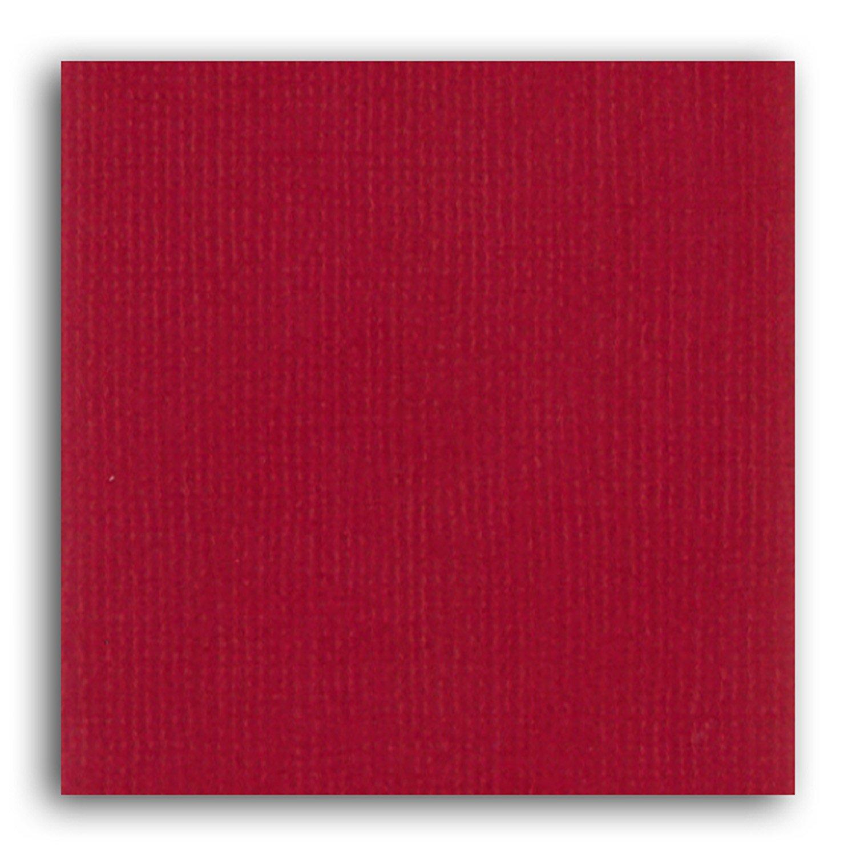 Papier scrapbooking Mahé Rouge Cerise 30,5x30,5 cm