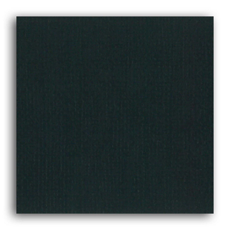 Papier scrapbooking Mahé Noir 30,5x30,5 cm