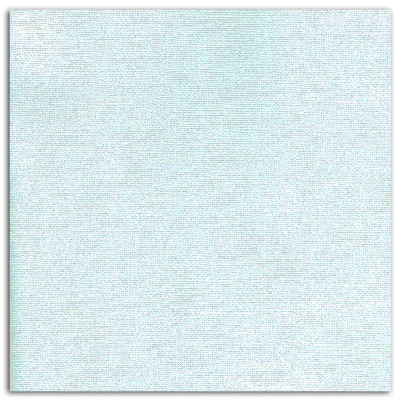 Papier scrapbooking Mahé Bleu Pastel 30,5x30,5 cm