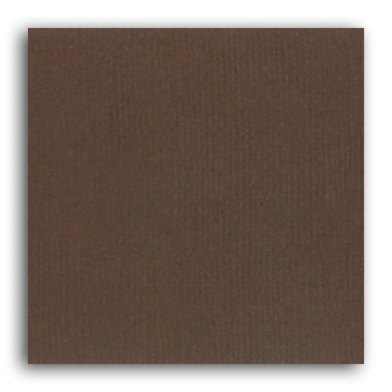 Papier scrapbooking Mahé Chocolat 30,5x30,5 cm
