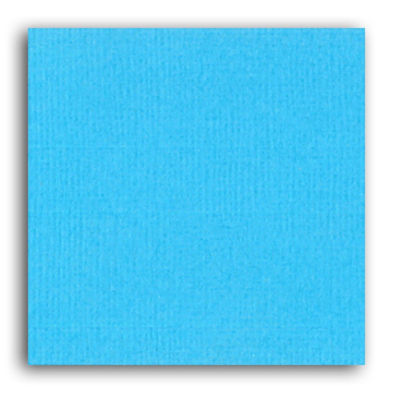 Papier scrapbooking Mahé Bleu Ciel 30,5x30,5 cm