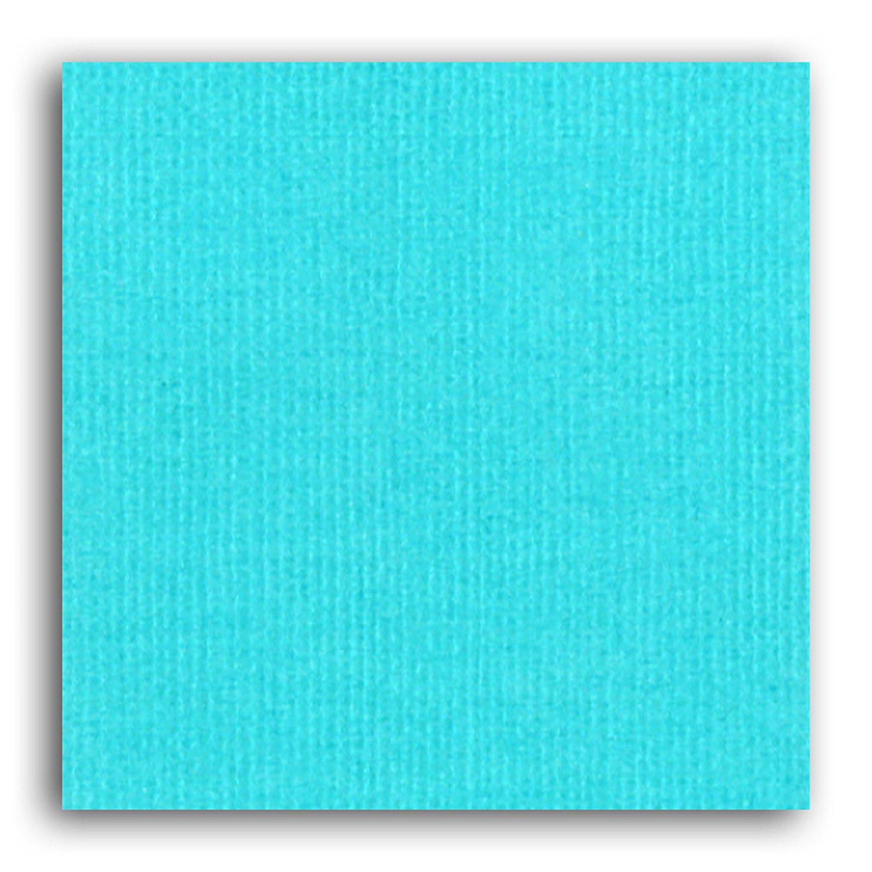 Papier scrapbooking Mahé Bleu Piscine 30,5x30,5 cm