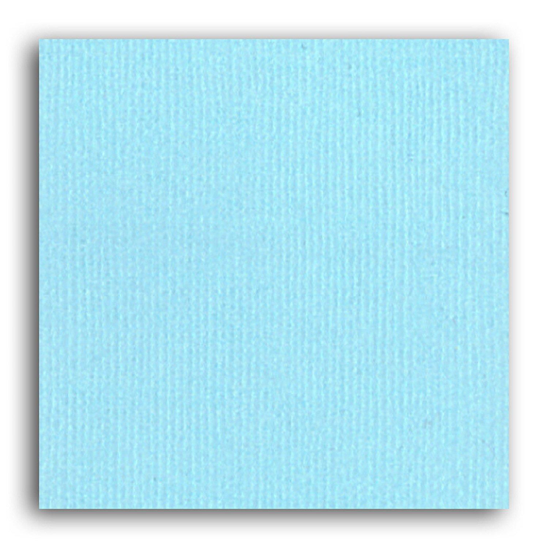 Papier scrapbooking Mahé Bleu Pale 30,5x30,5 cm