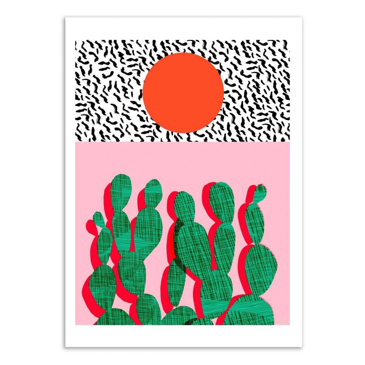SPAZZ - Affiche d'art 50 x 70 cm
