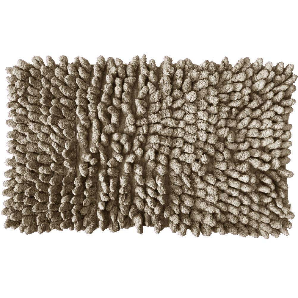 Carpette de bain en coton mastic 50x80cm