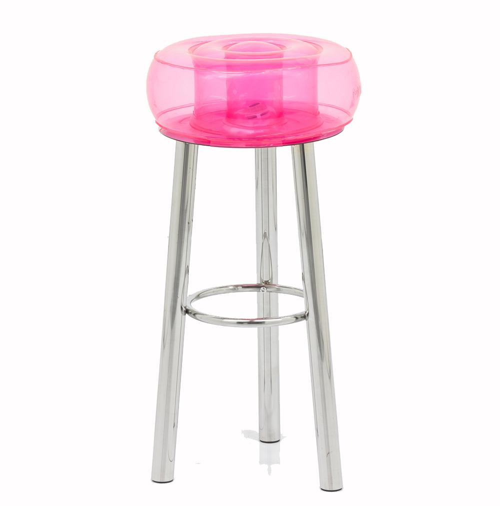 Tabouret de bar design rose
