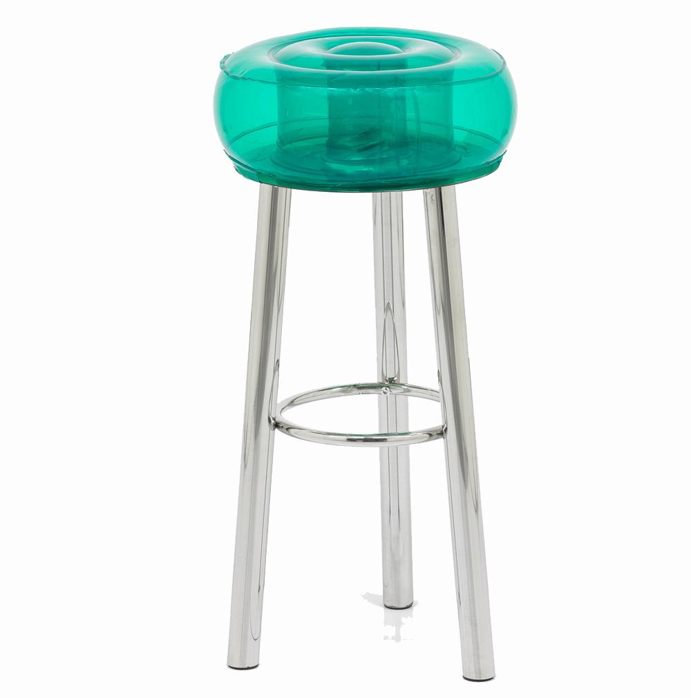 Tabouret de bar design vert