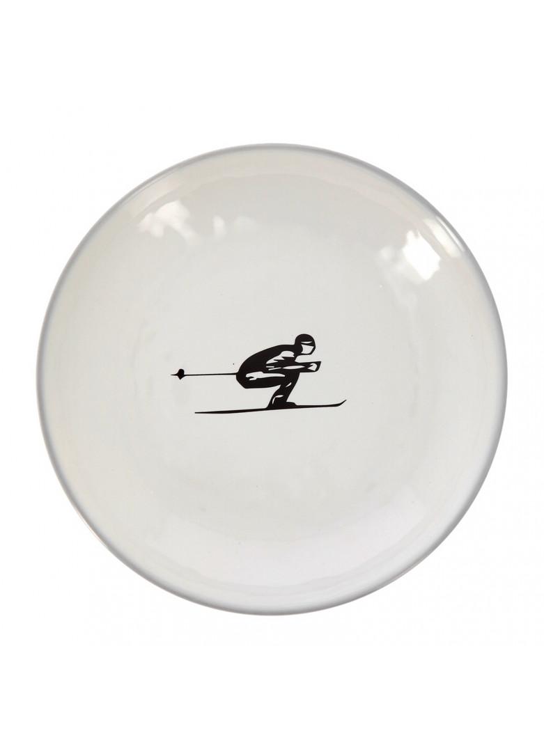 Vaisselle céramique Schuss gris