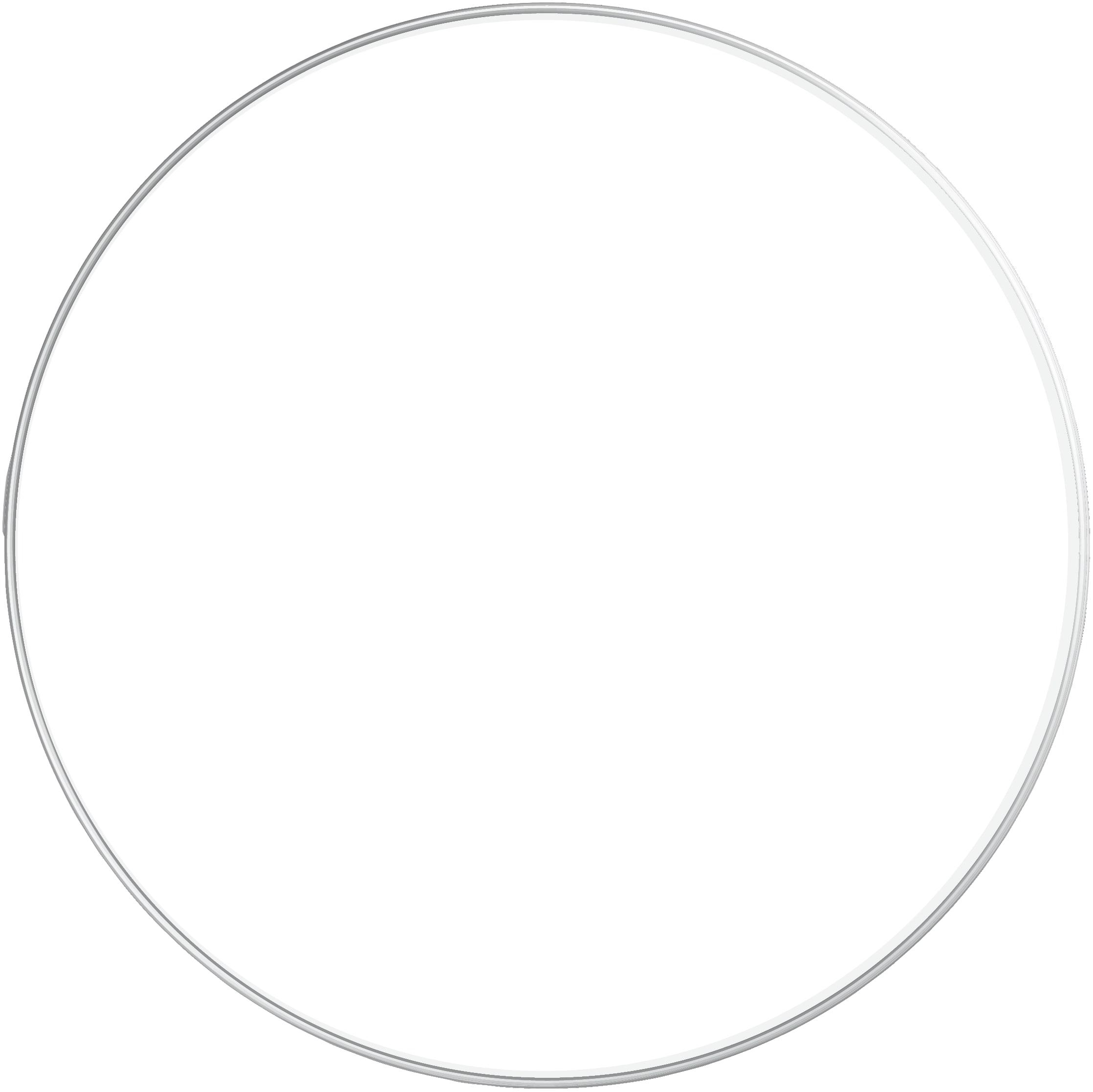 Plat rond blanc D32cm