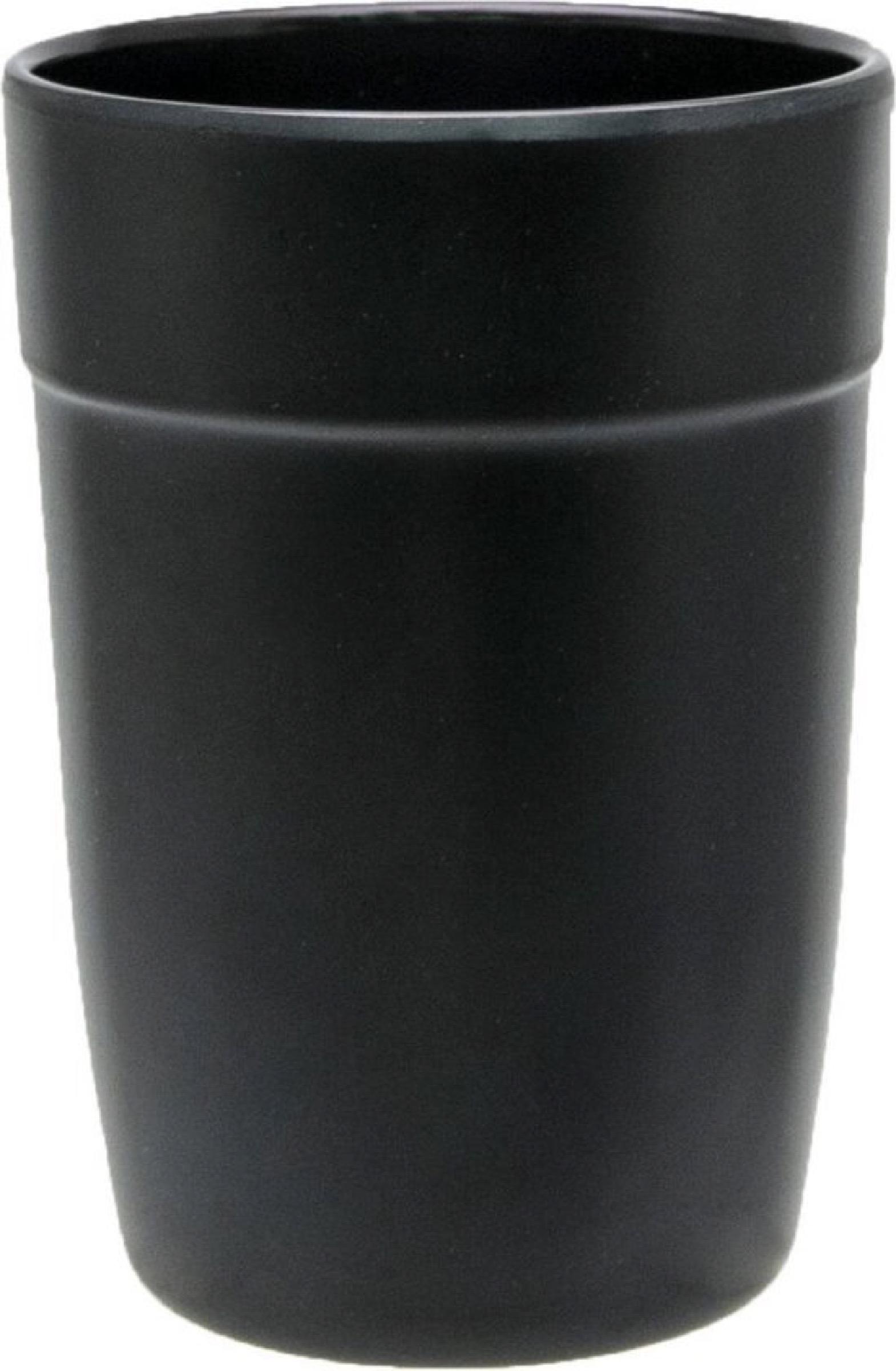 Verre à eau mat noir 35cl