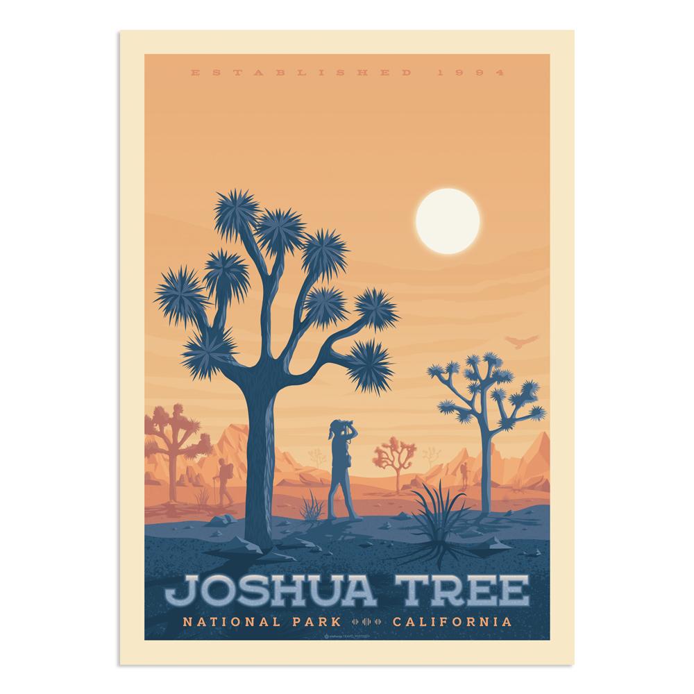 Affiche Joshua Tree National Park  30x40 cm