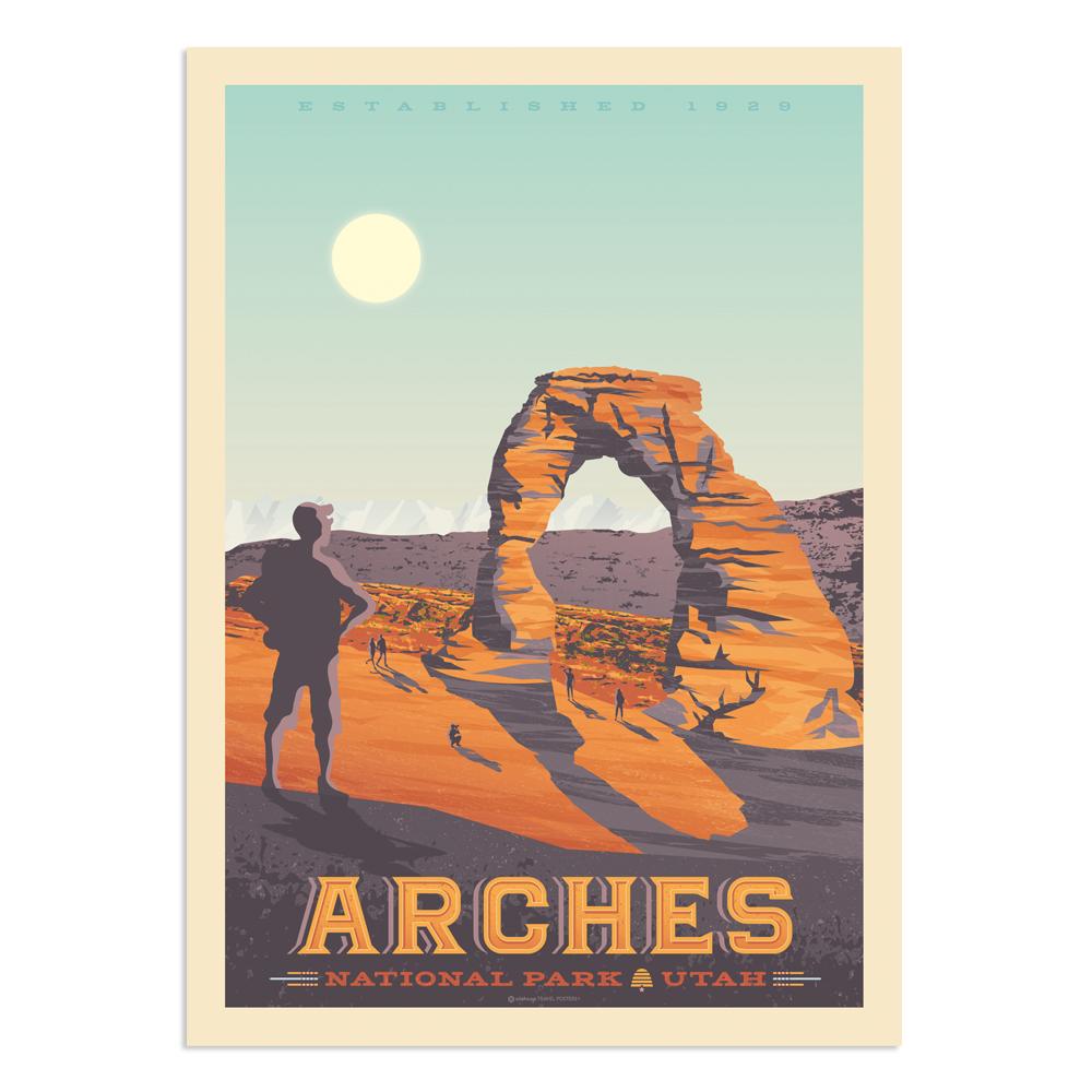 Affiche Arches National Park  30x40 cm