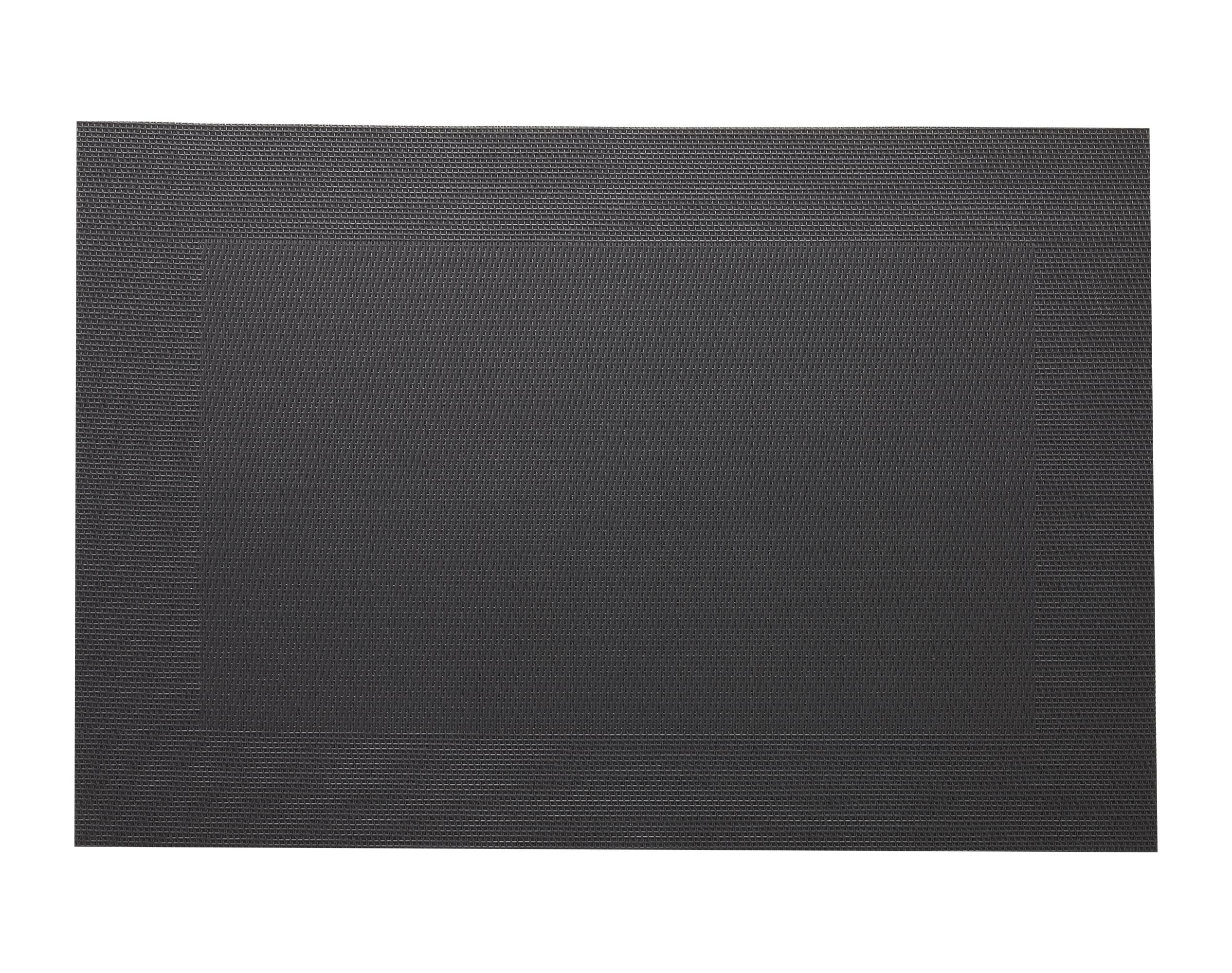 Lot de 2 sets de table unis gris anthracite 45x30