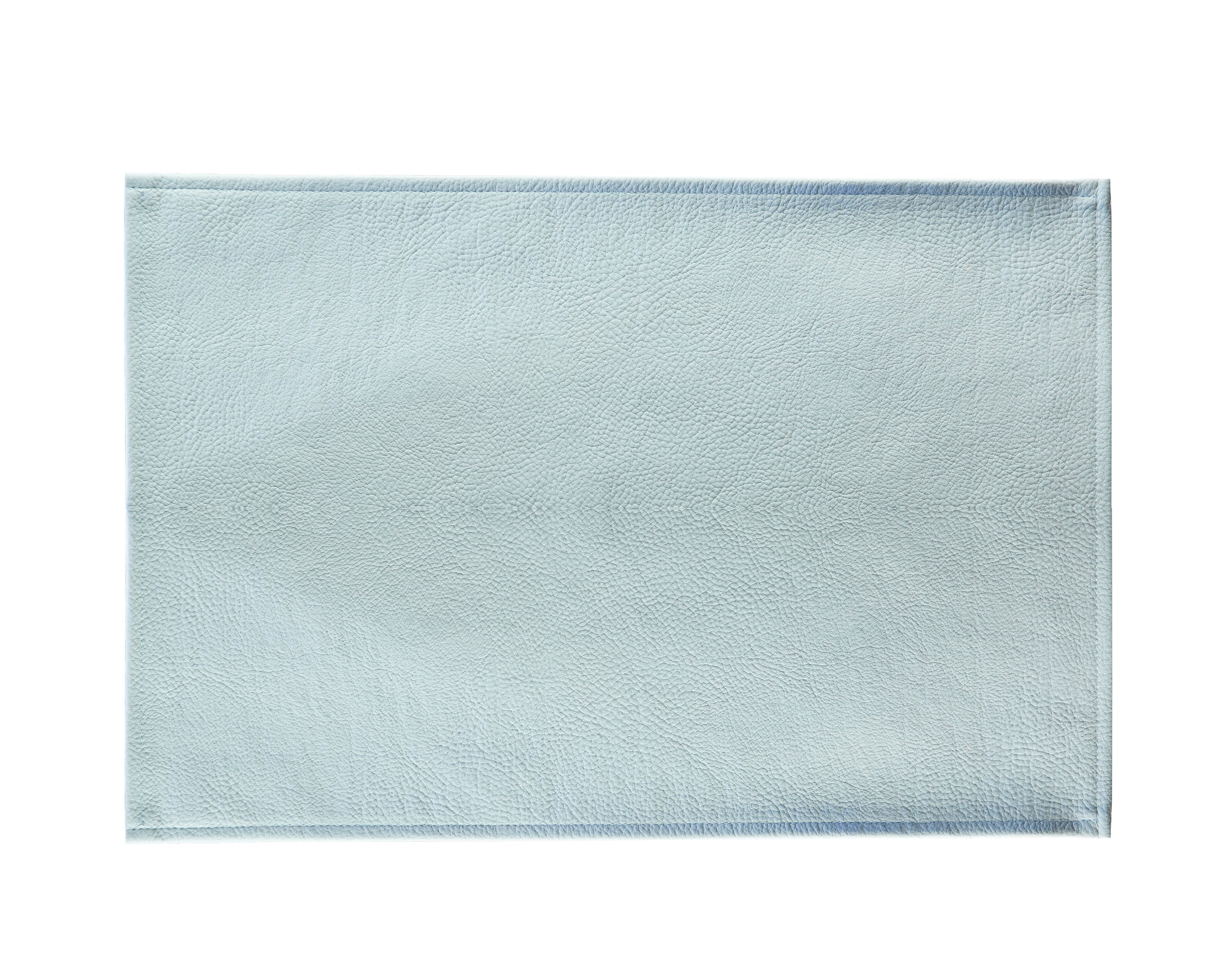 Lot de 2 sets de table aspect grainé gris perle 45x30