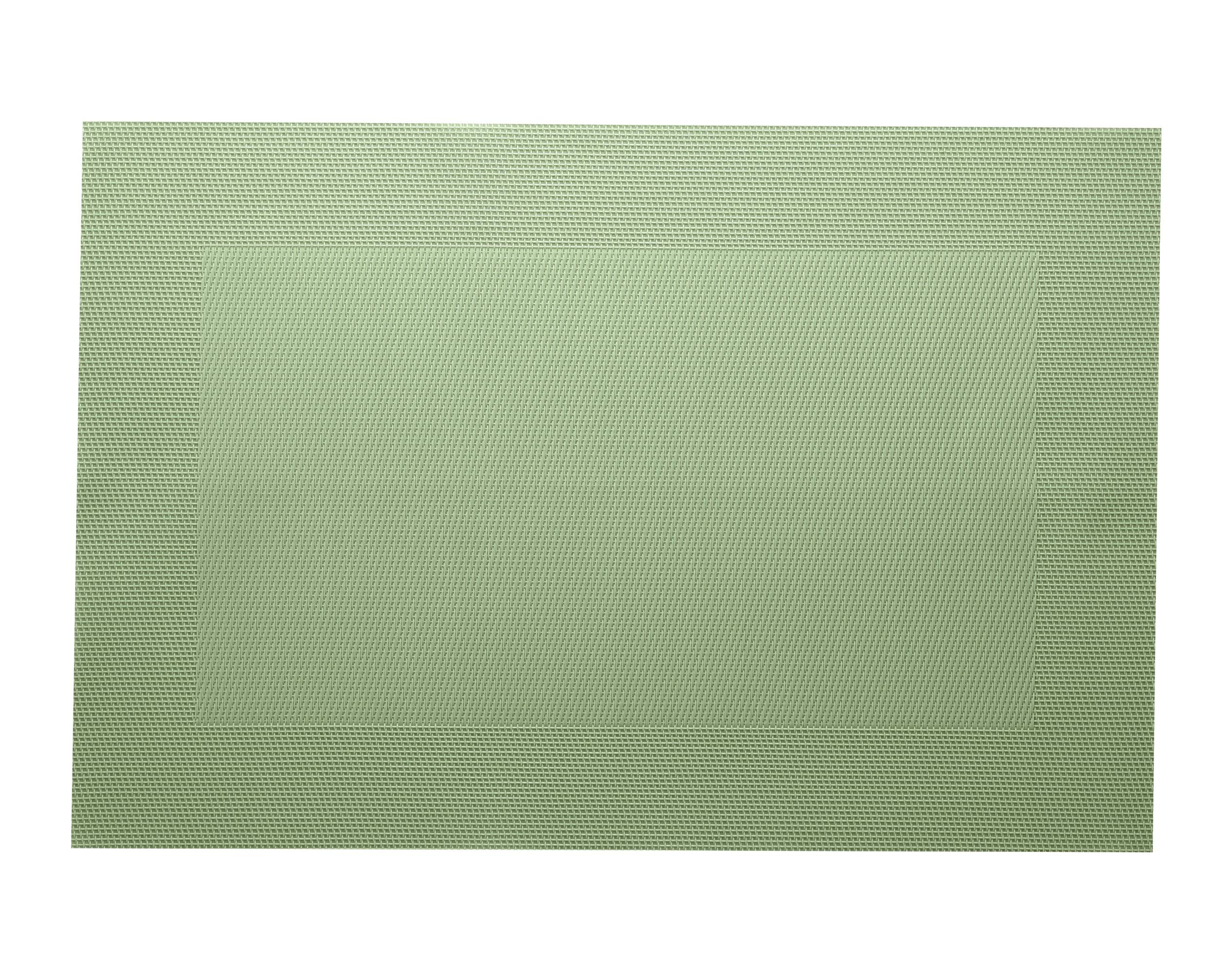 Lot de 2 sets de table unis vert céladon 45x30
