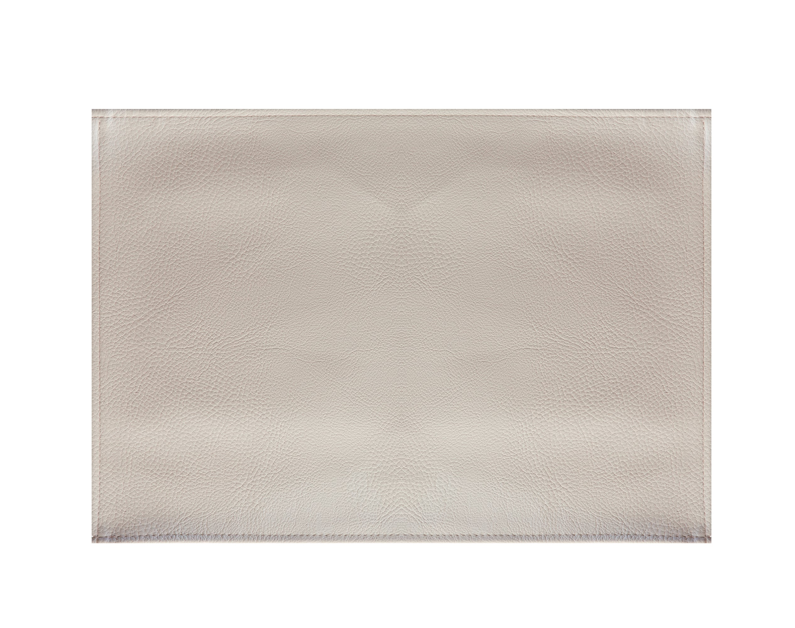 Lot de 2 sets de table aspect grainé beige sable 45x30