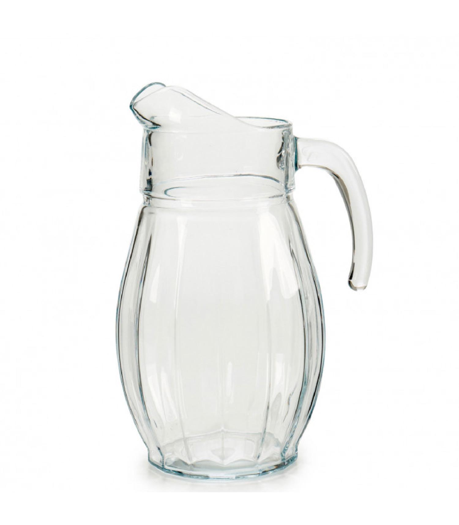 Pichet à eau ou jus en verre 1,7L