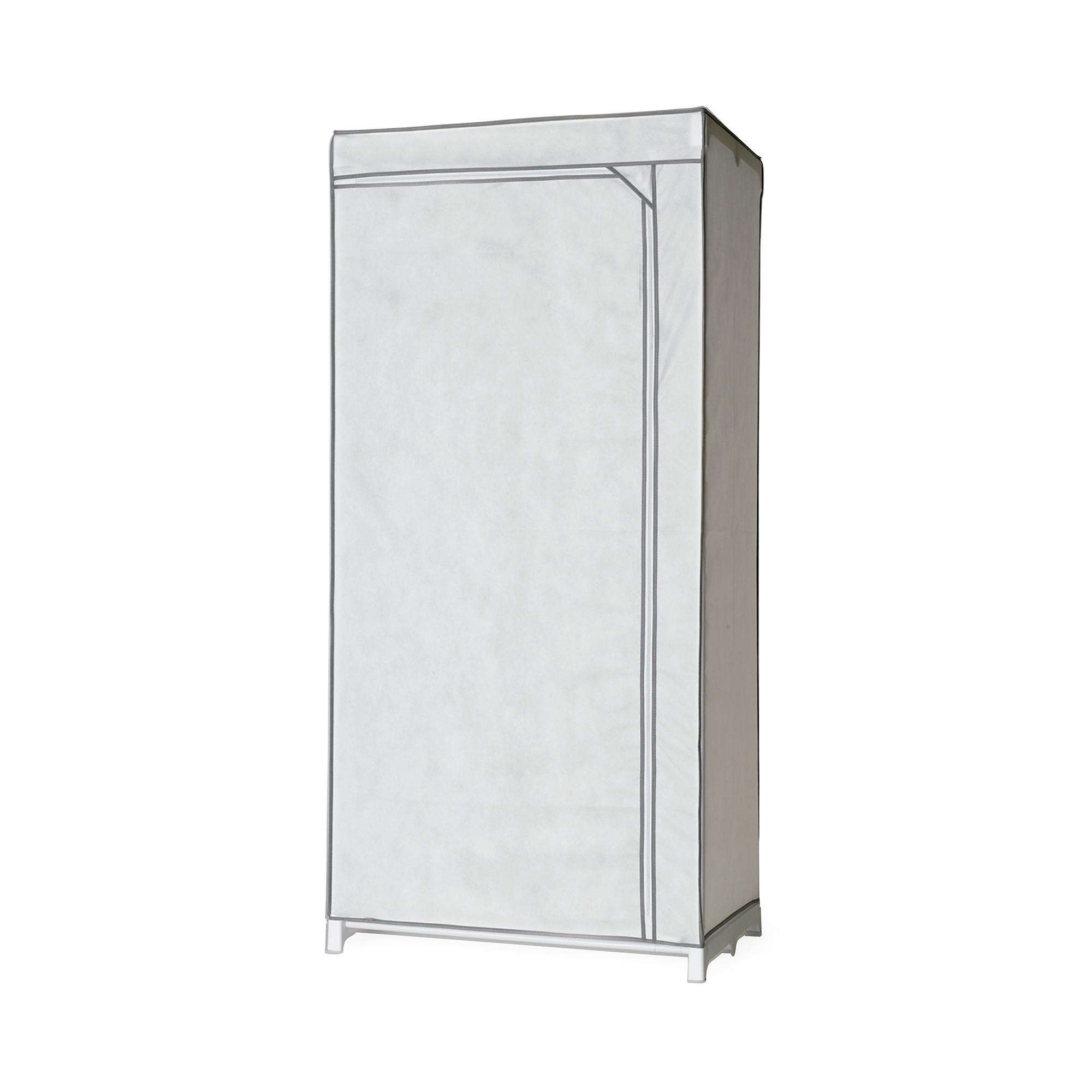 Armoire penderie housse blanche H170cm