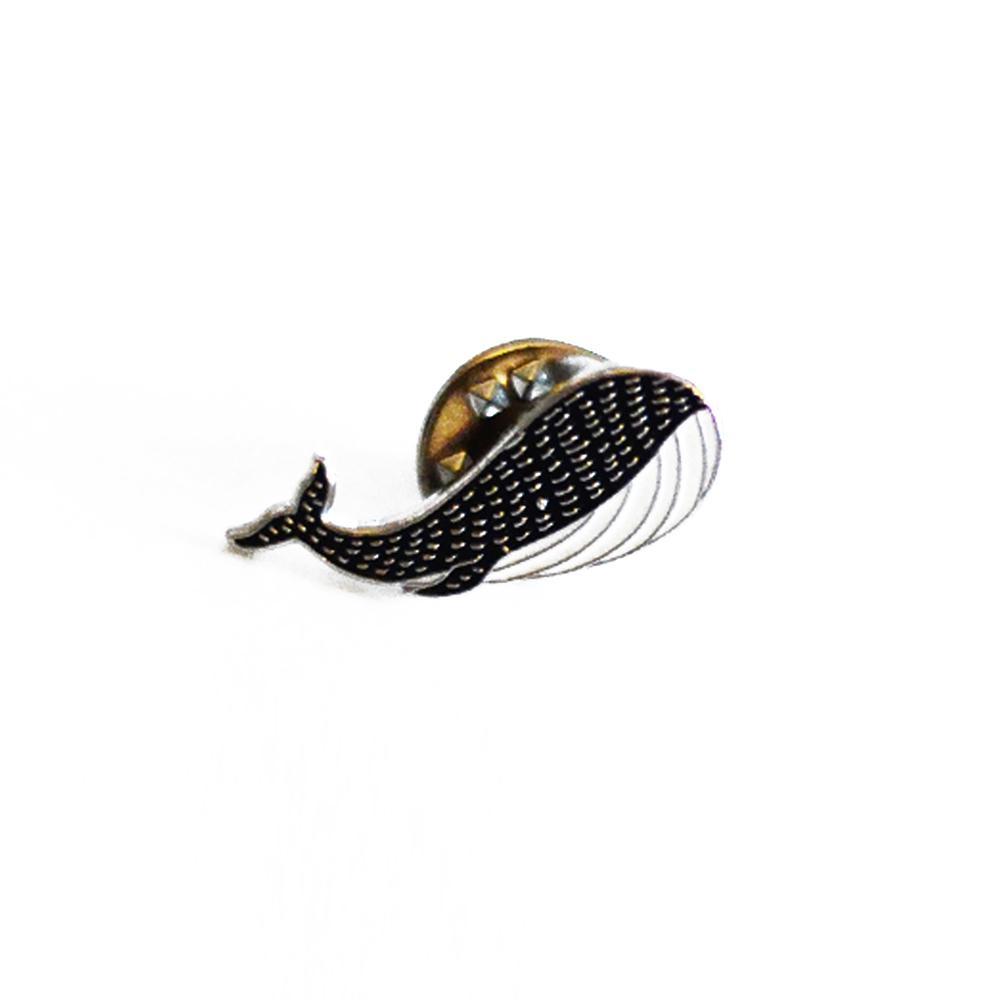 Broche pin's baleine