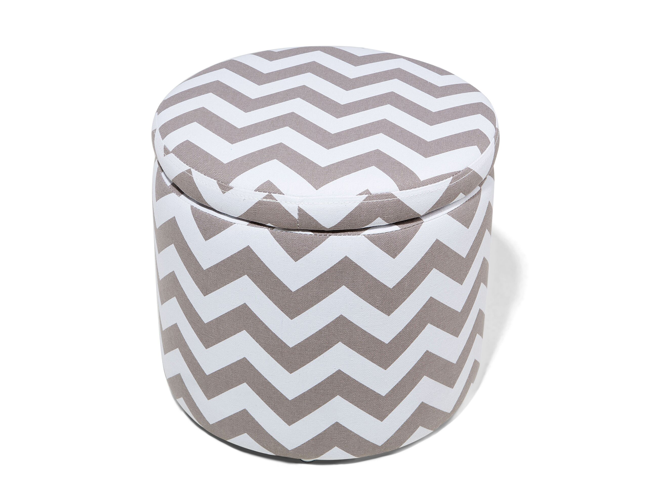 Boîte de rangement multifonction gris et blanc
