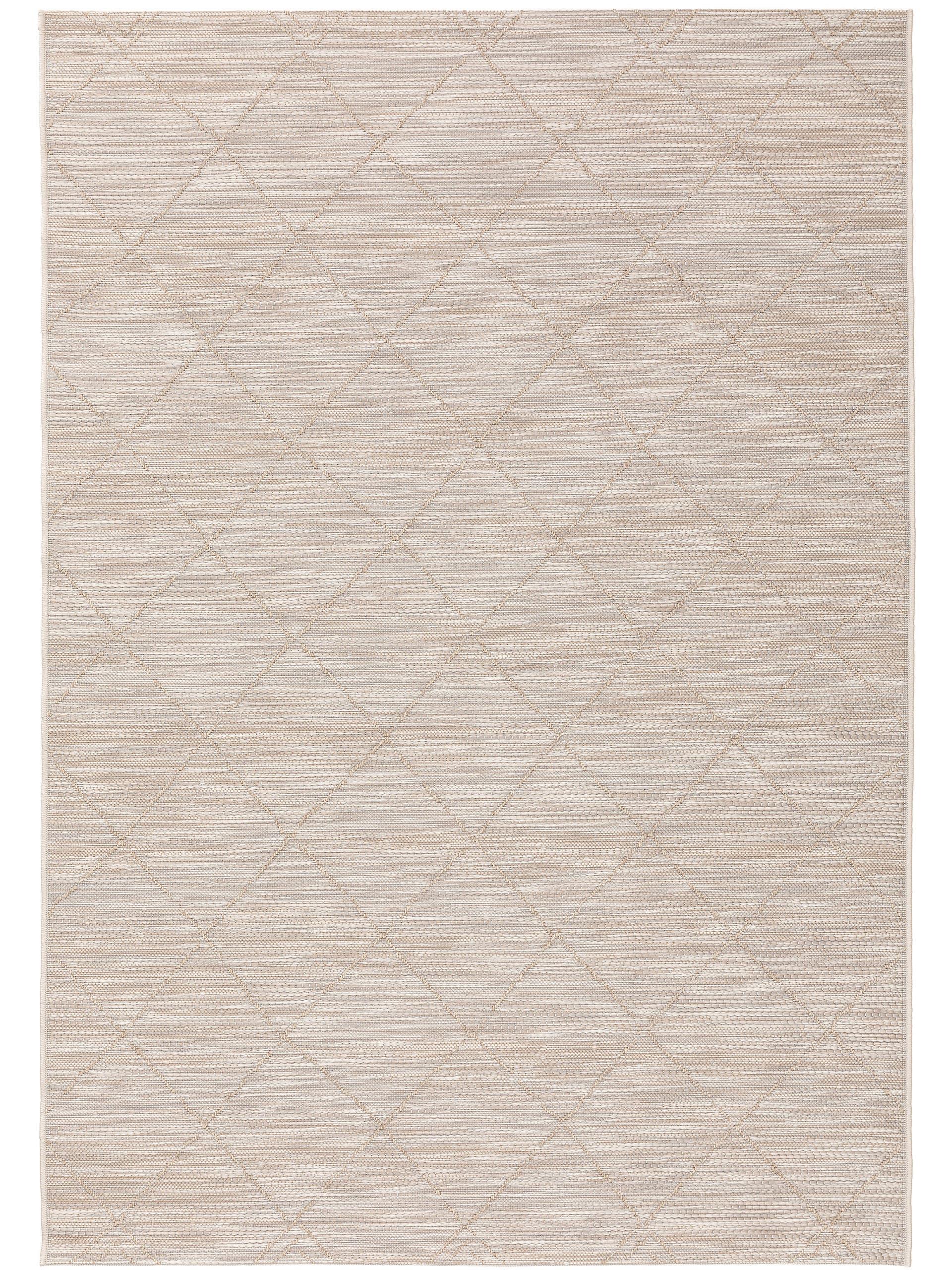 Tapis d'extérieur & intérieur beige 160x230