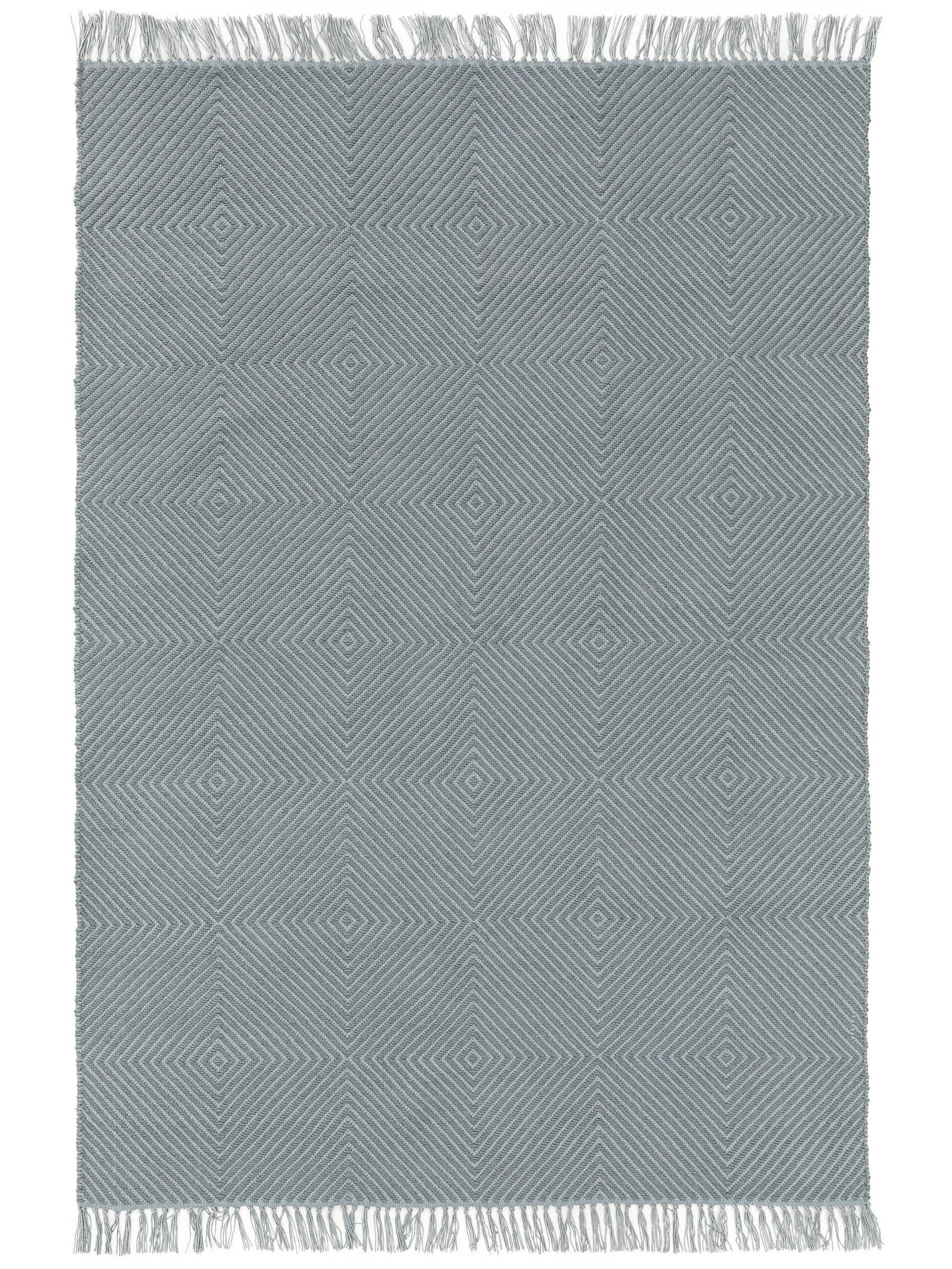 Tapis d'extérieur & intérieur bleu clair 160x230