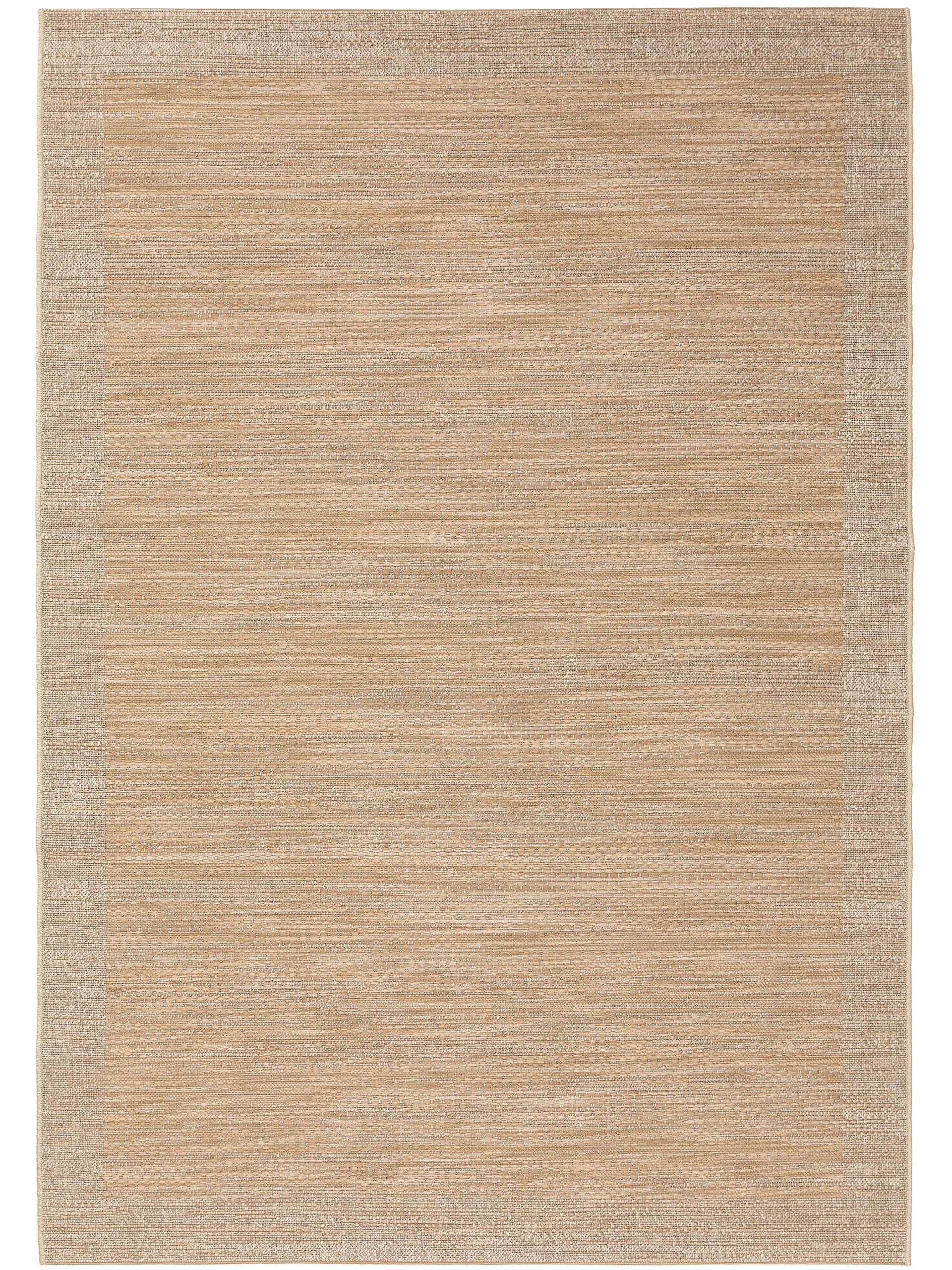 Tapis d'extérieur & intérieur beige 120x170
