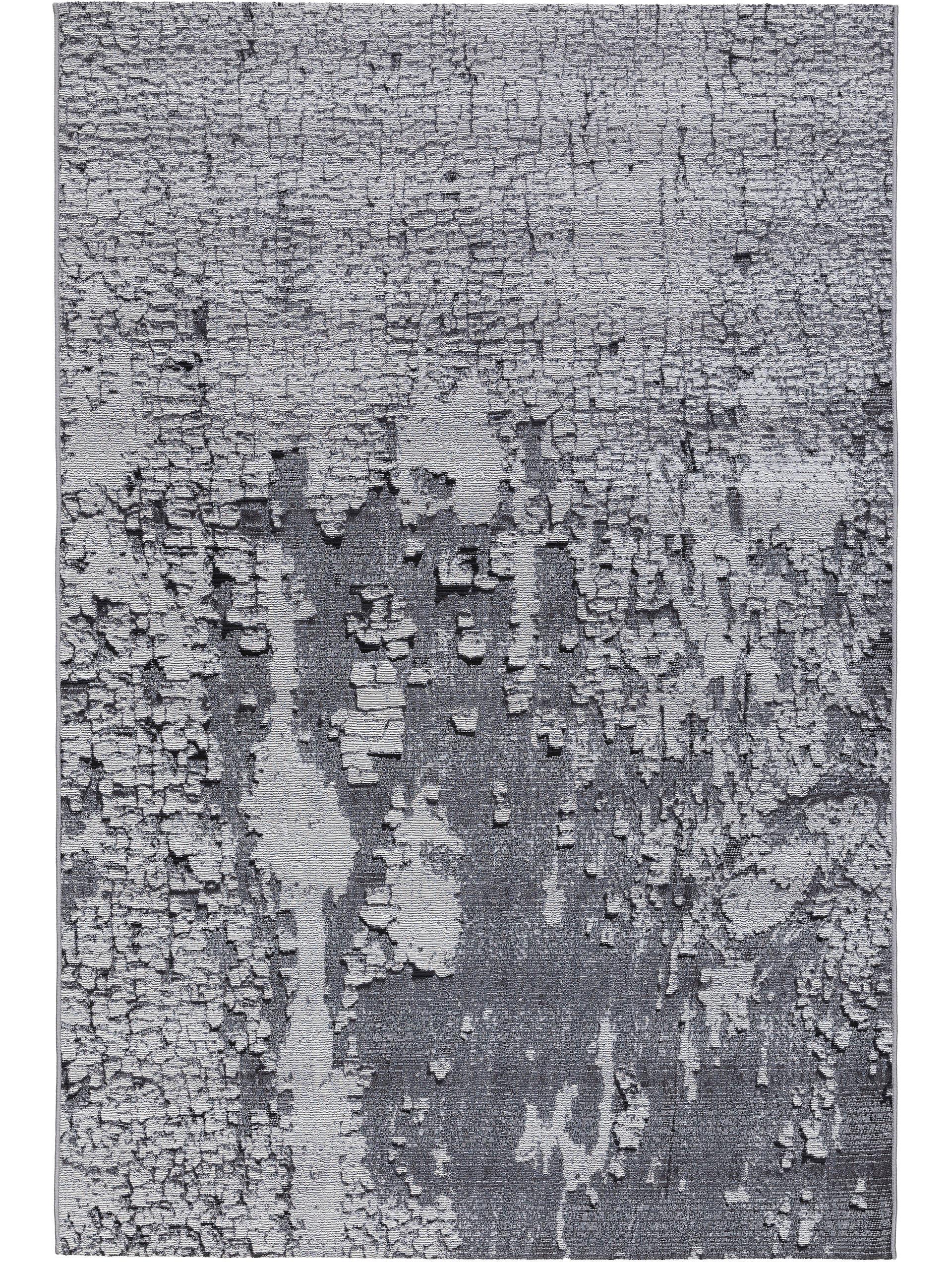 Tapis d'extérieur & intérieur anthracite 200x285