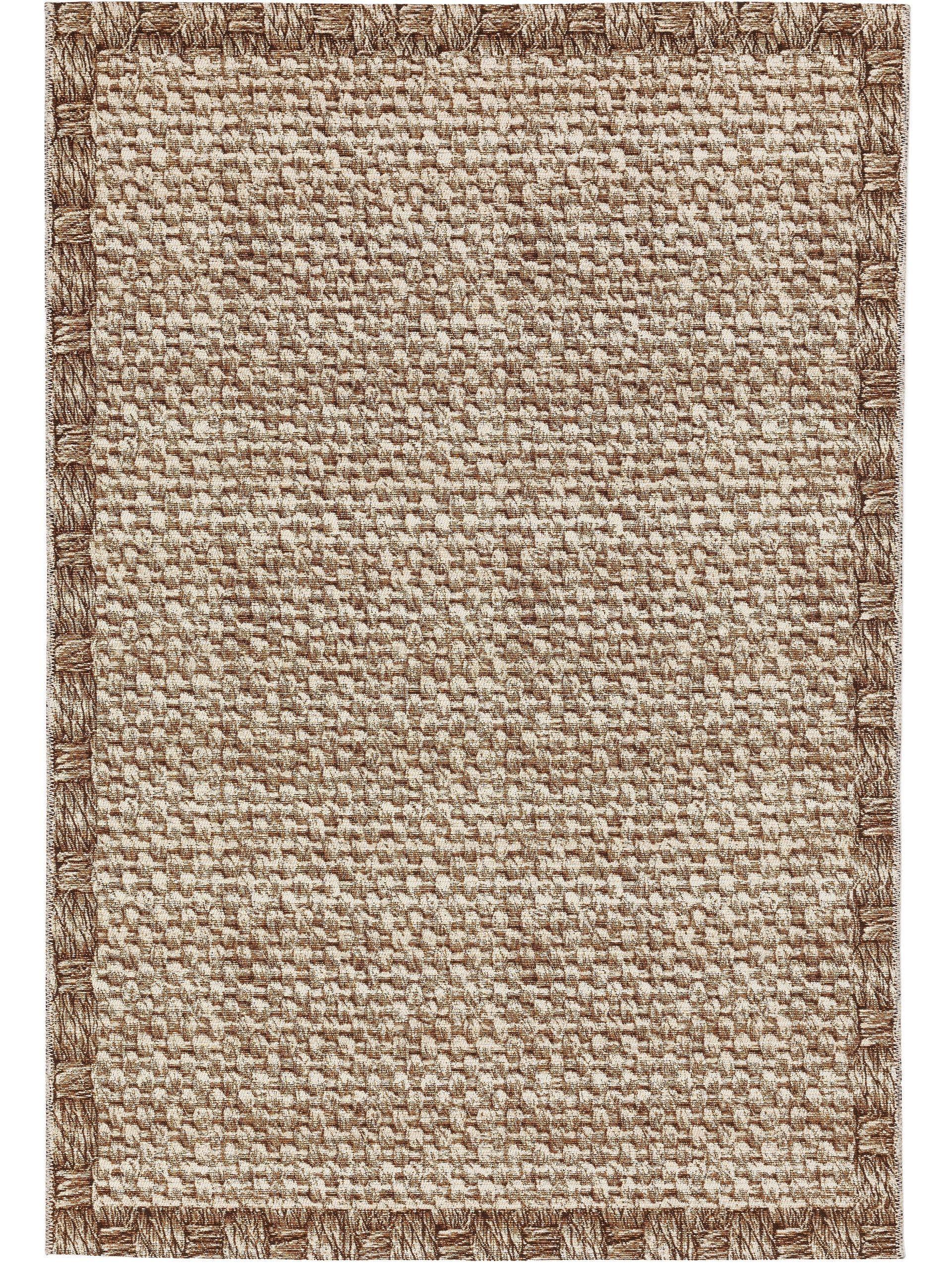 Tapis d'extérieur & intérieur crème/beige 120x180