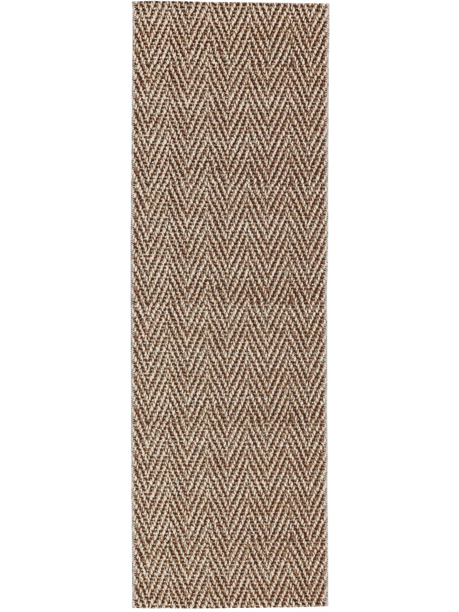 Tapis d'extérieur & intérieur crème/beige 80x250