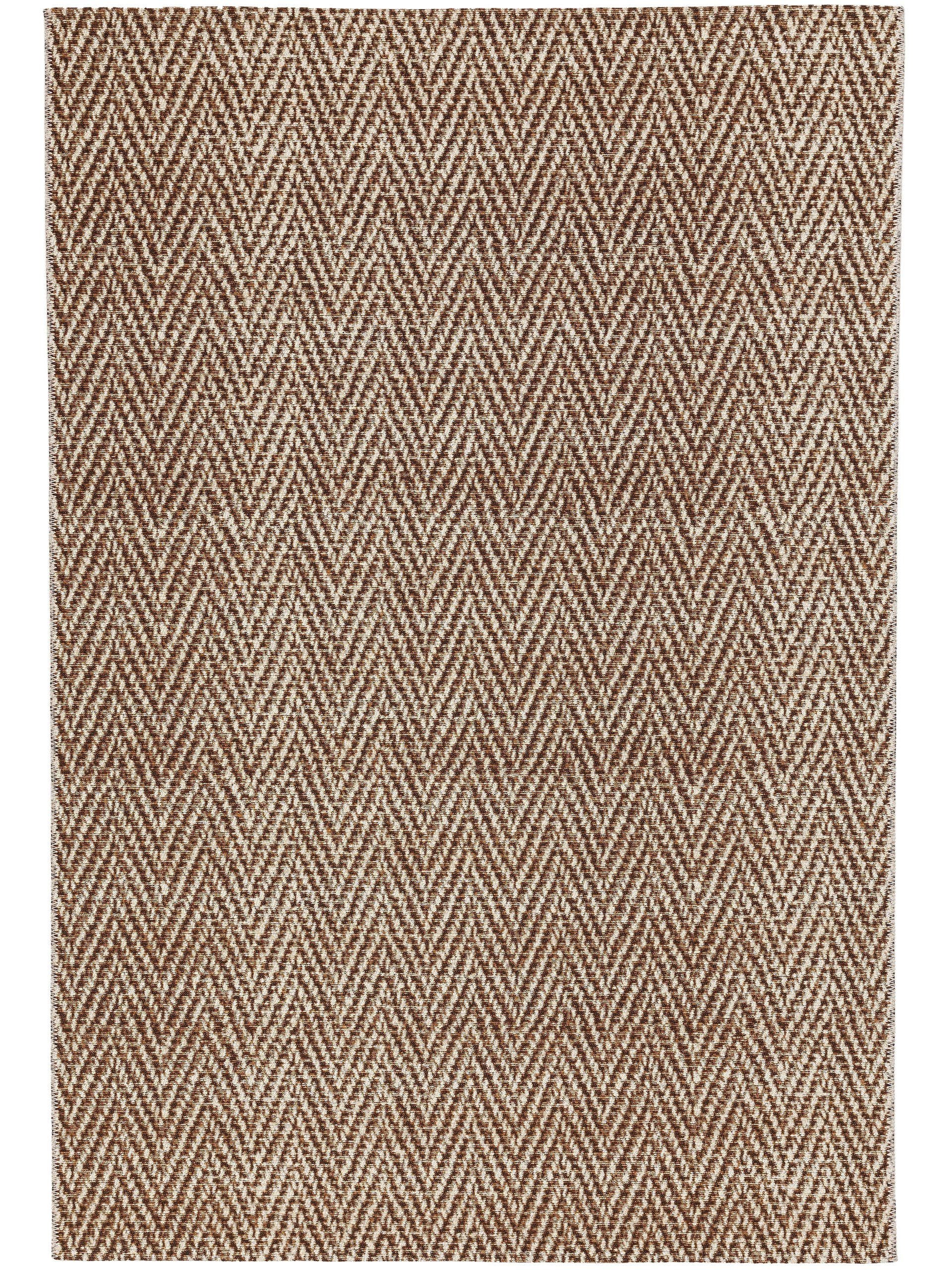 Tapis d'extérieur & intérieur crème/beige 80x165