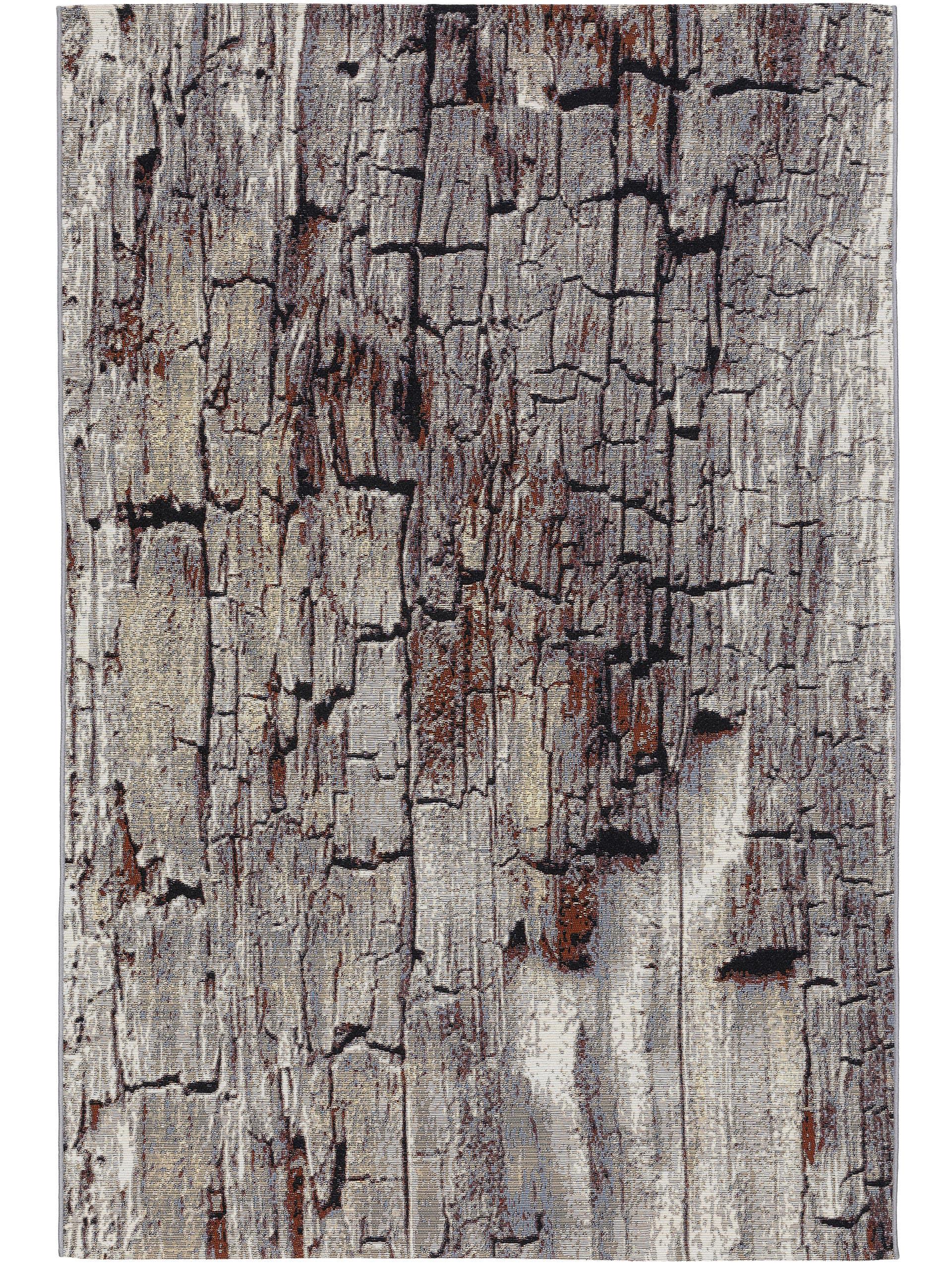 Tapis d'extérieur & intérieur beige/marron 120x180