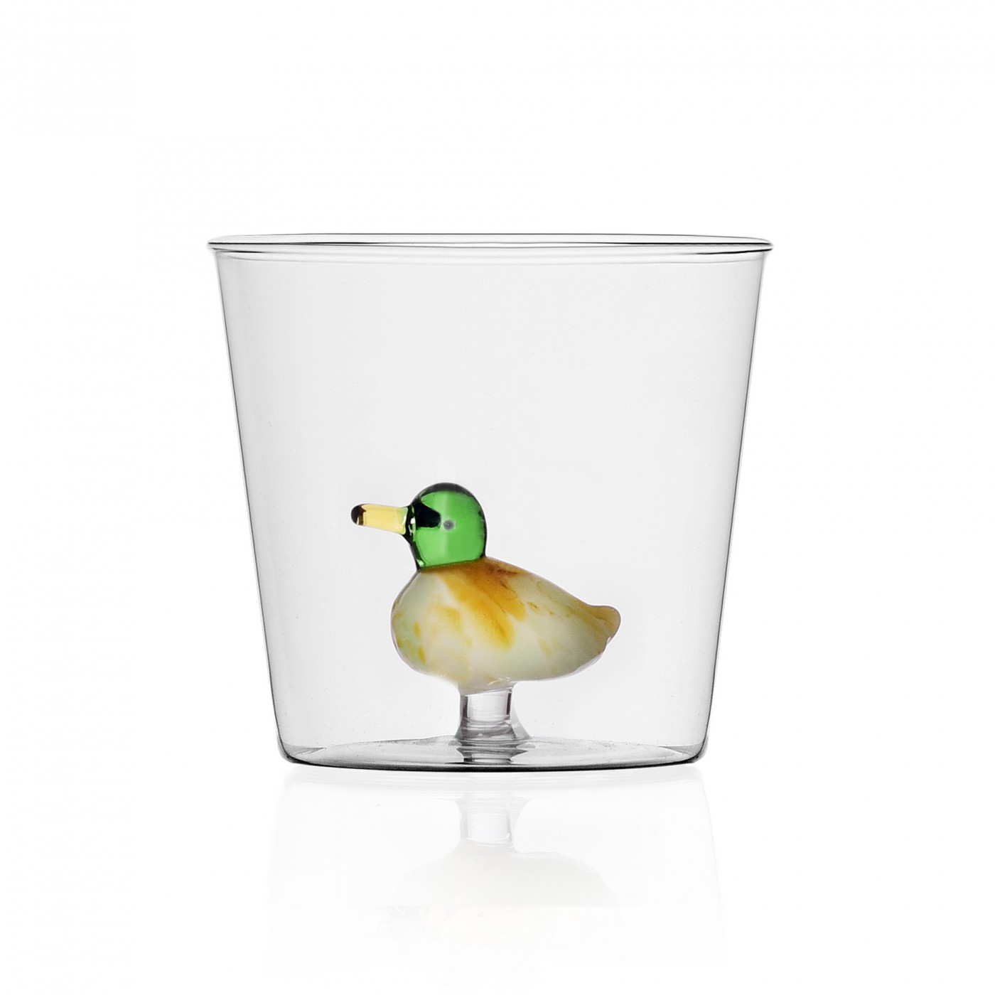 Verre tumbler canard
