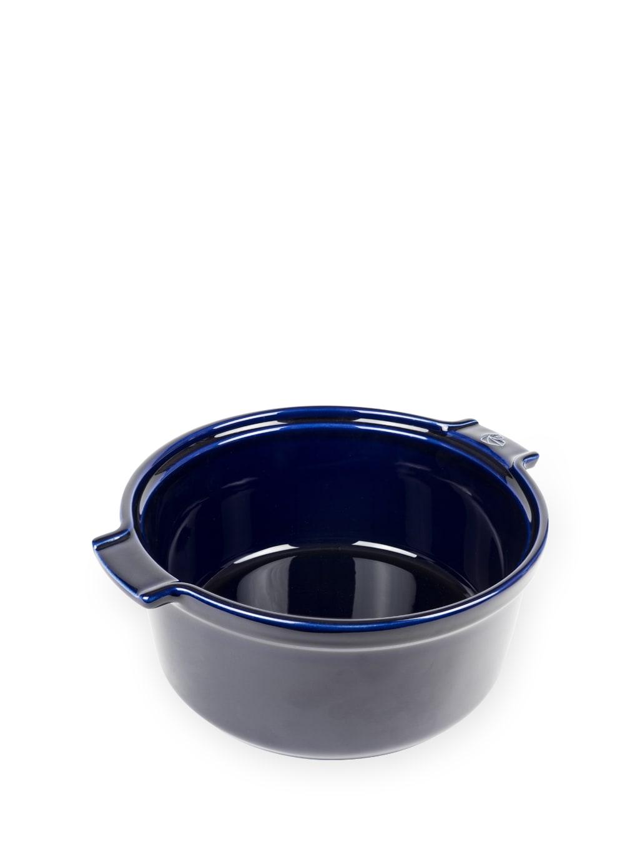 Moule à soufflé en céramique bleu D22cm