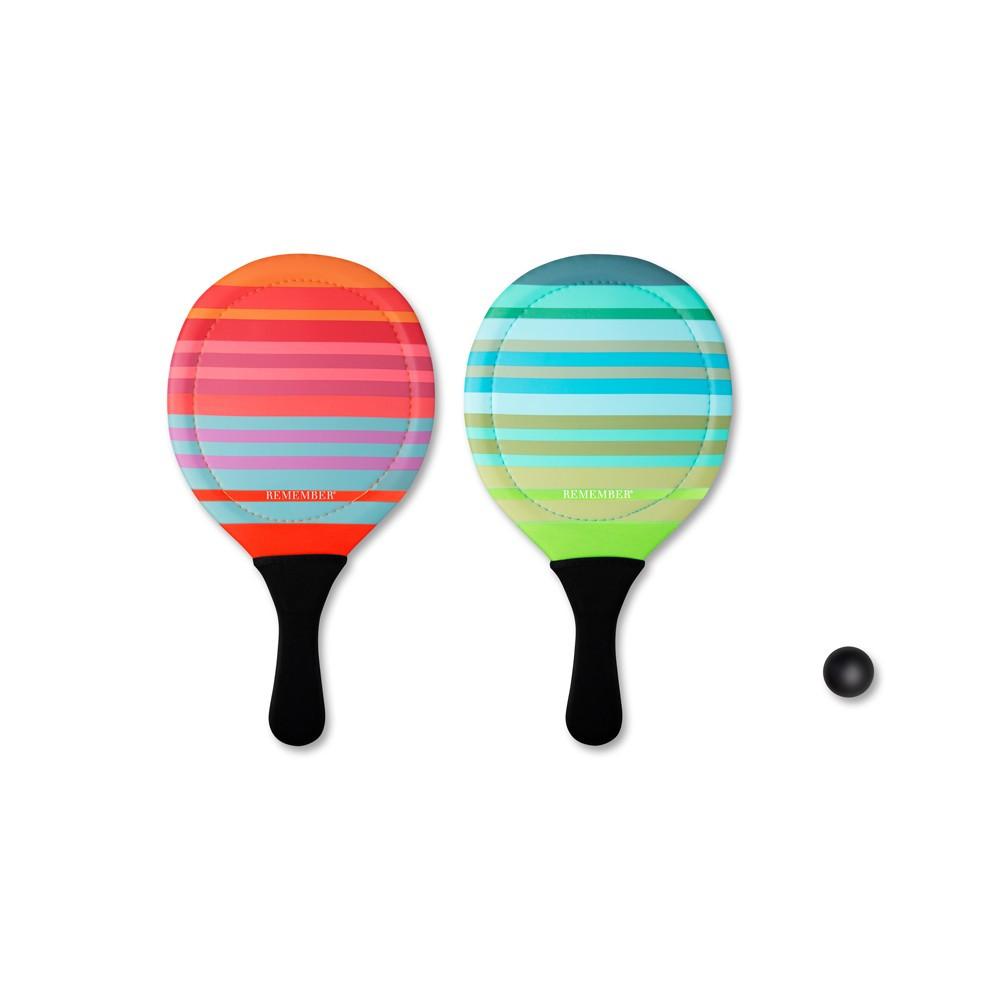 Set de 2 raquettes de plage