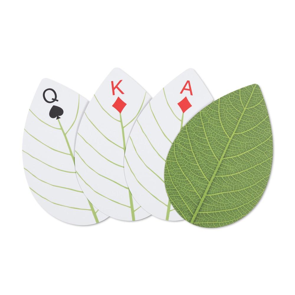 Jeu de cartes feuilles