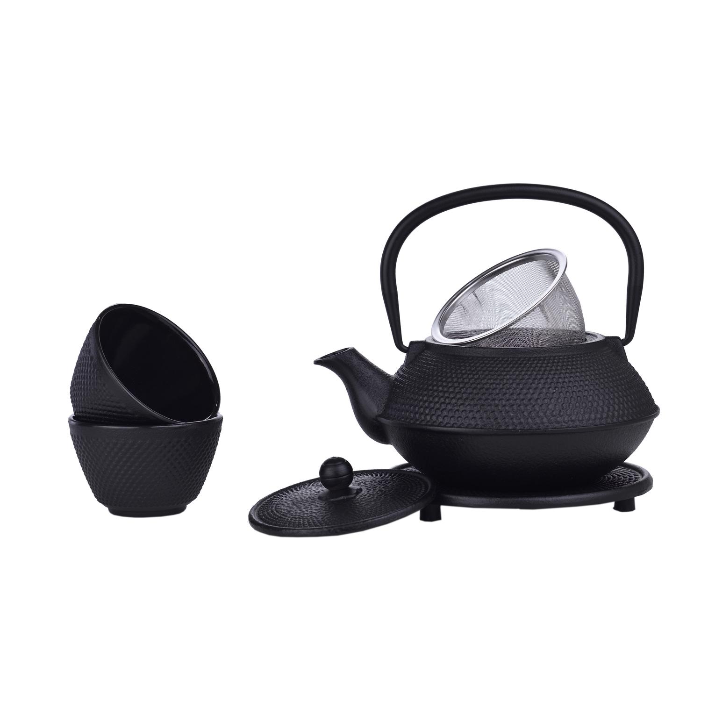 Service à thé Japonais en fonte 800ml