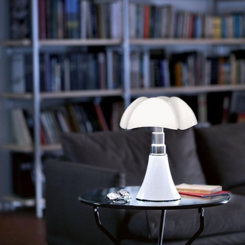 Lampe LED blanche avec variateur H35cm