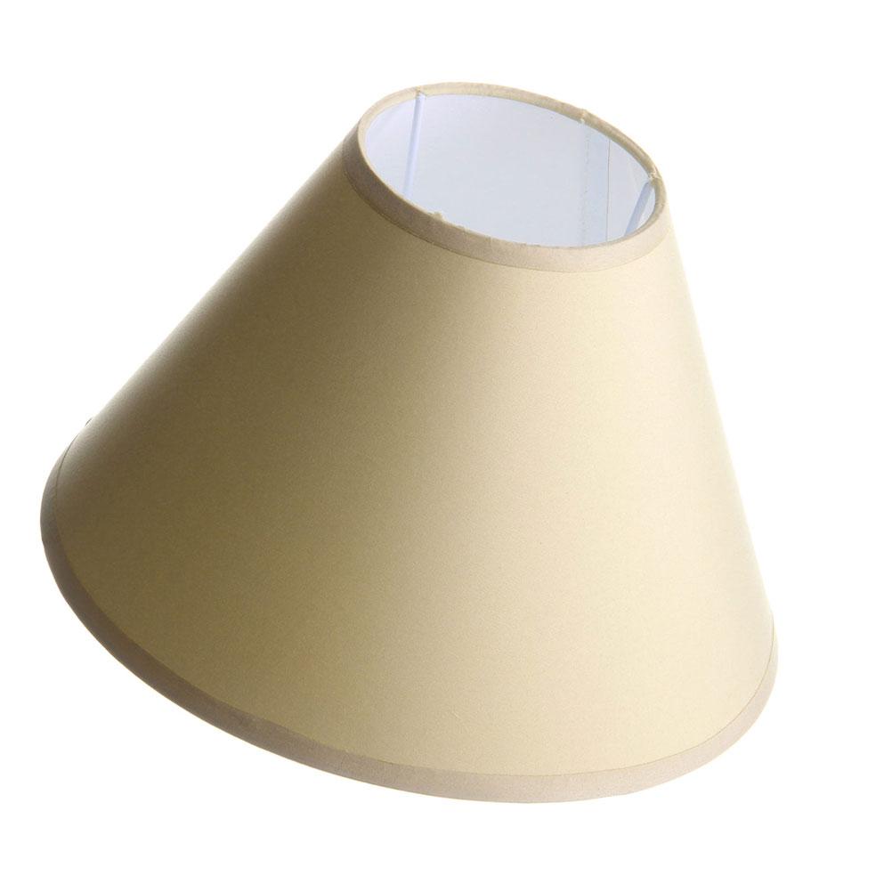 Abat-jour beige D25cm