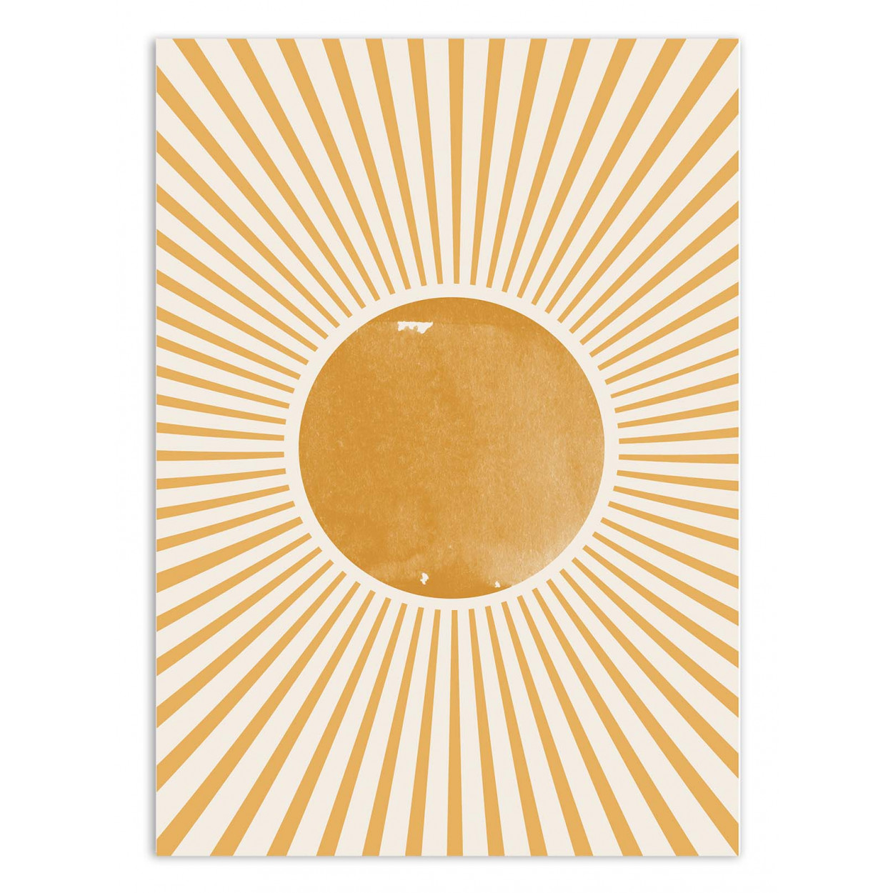 SUNSHINE - MIUUS STUDIO - Affiche d'art 50 x 70 cm