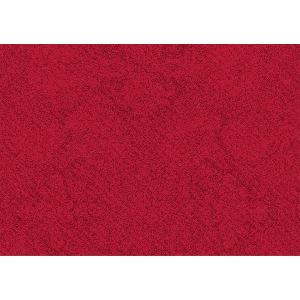 Set enduit imperméable pur coton rouge 40X50