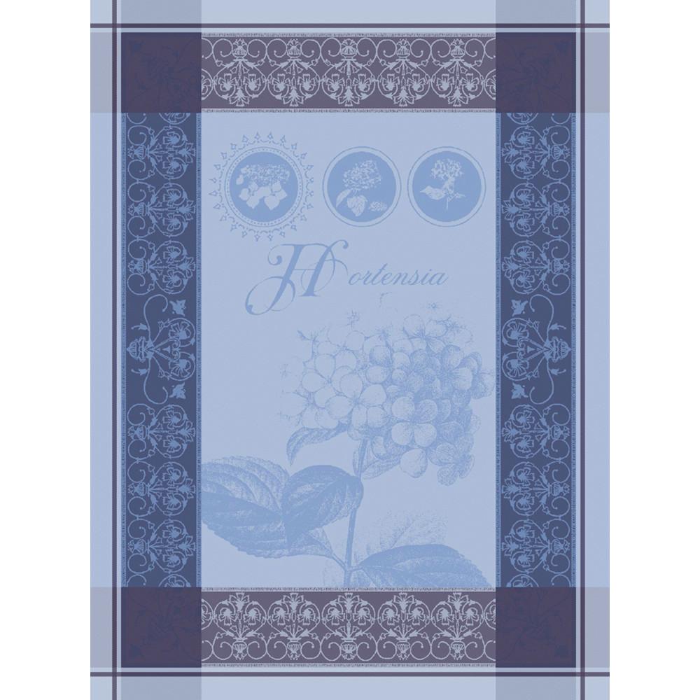 Torchon  pur coton bleu 56x77