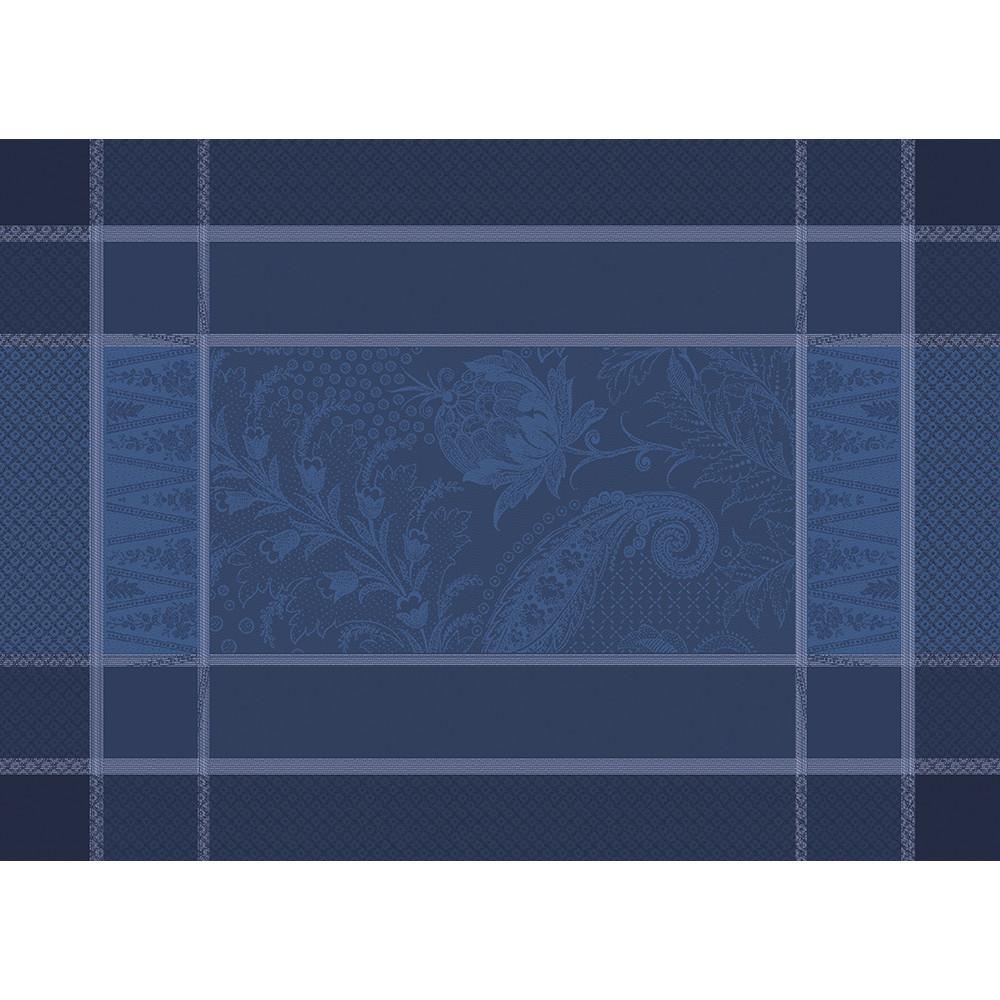 Set antitache déperlant pur coton bleu 54X39