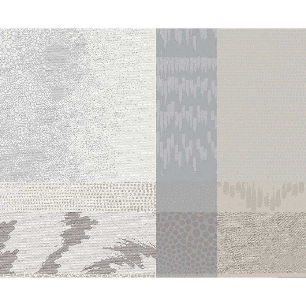 Set enduit imperméable pur coton beige 40X50