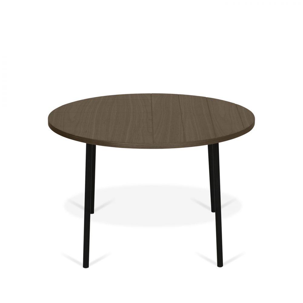 Table Basse effet bois Noyer