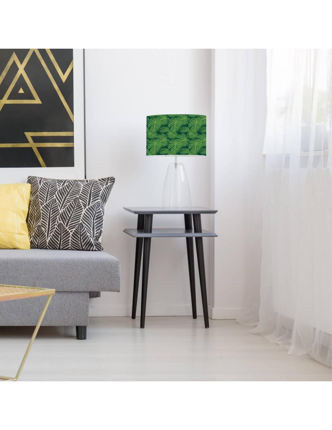 Abat-jour vert imprimé vert d 100 cm