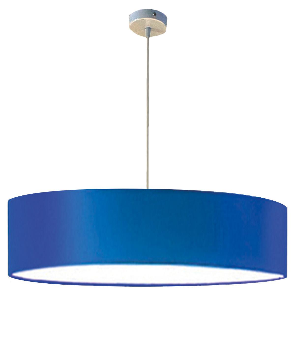 Suspension bleu d 65 cm