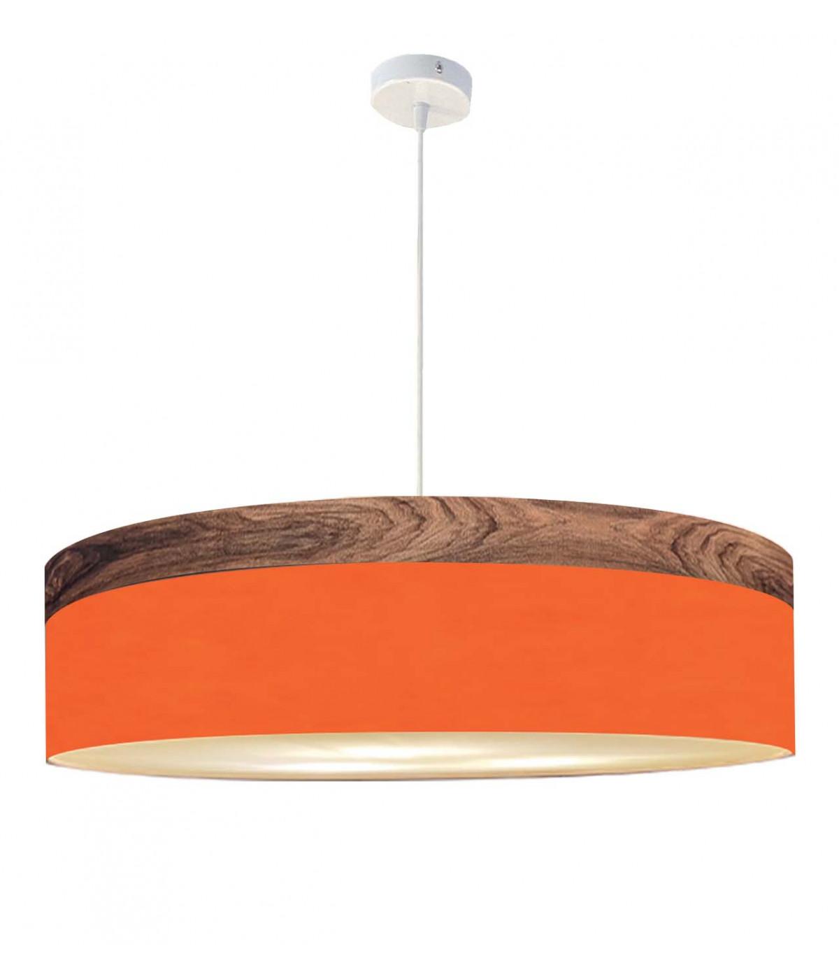 Suspension orange d 65 cm