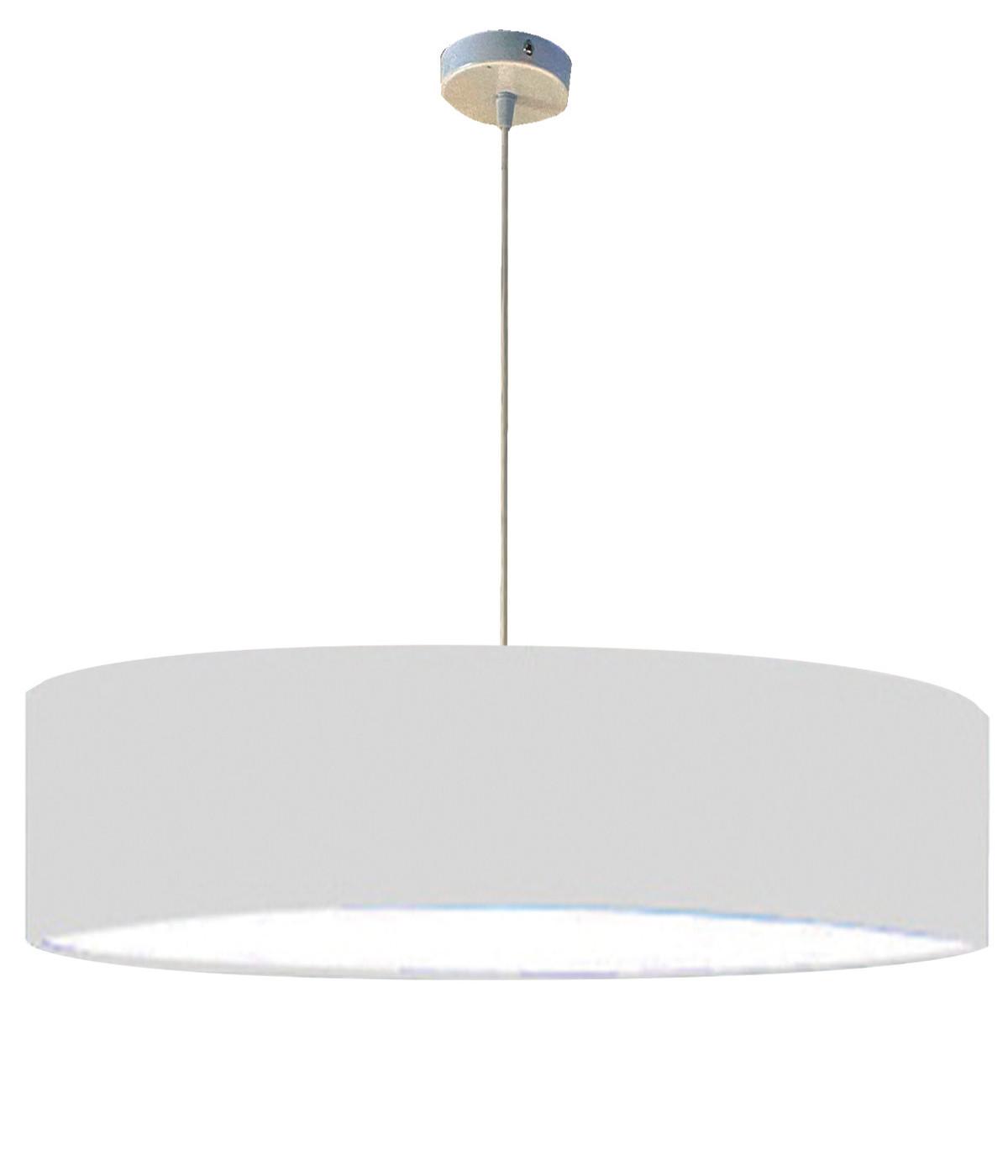 Suspension blanc d 65 cm